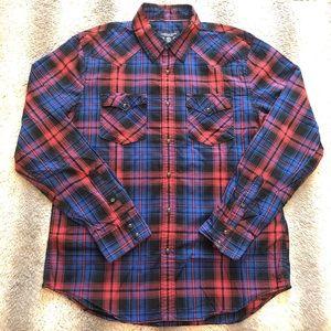 🦅 American Eagle Long Sleeve Button Down Shirt L